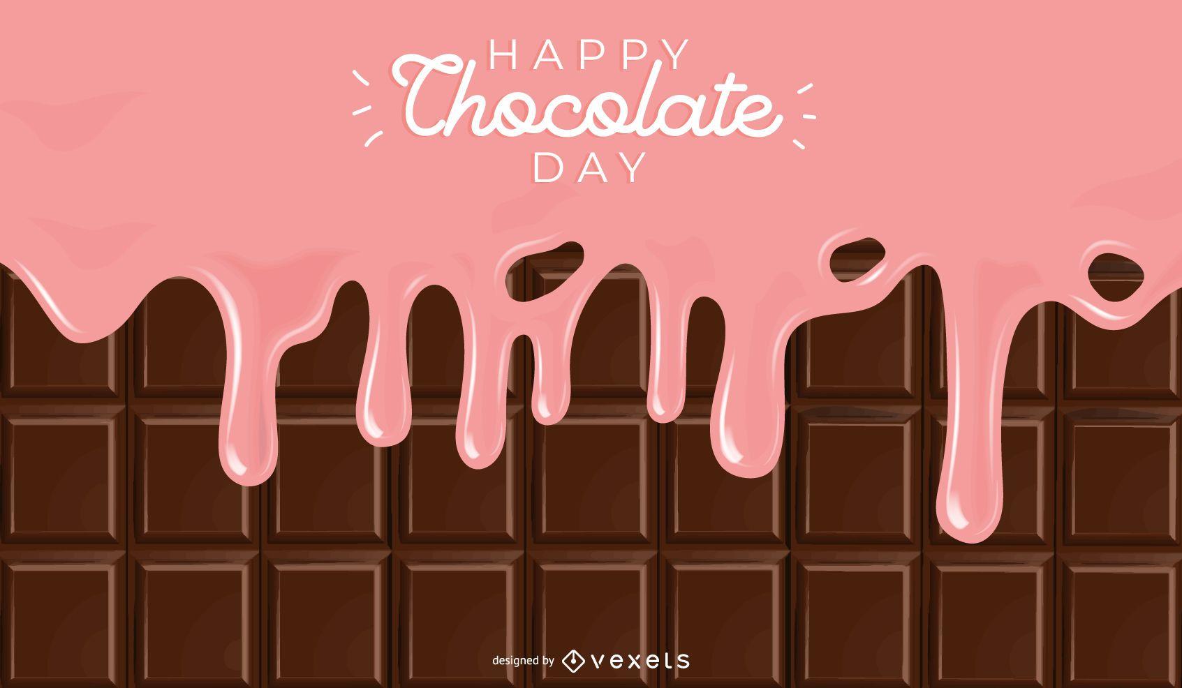 Fondo del d?a del chocolate