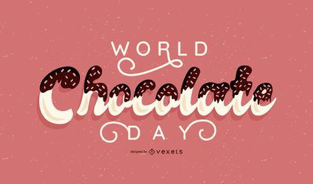 Banner do dia mundial do chocolate