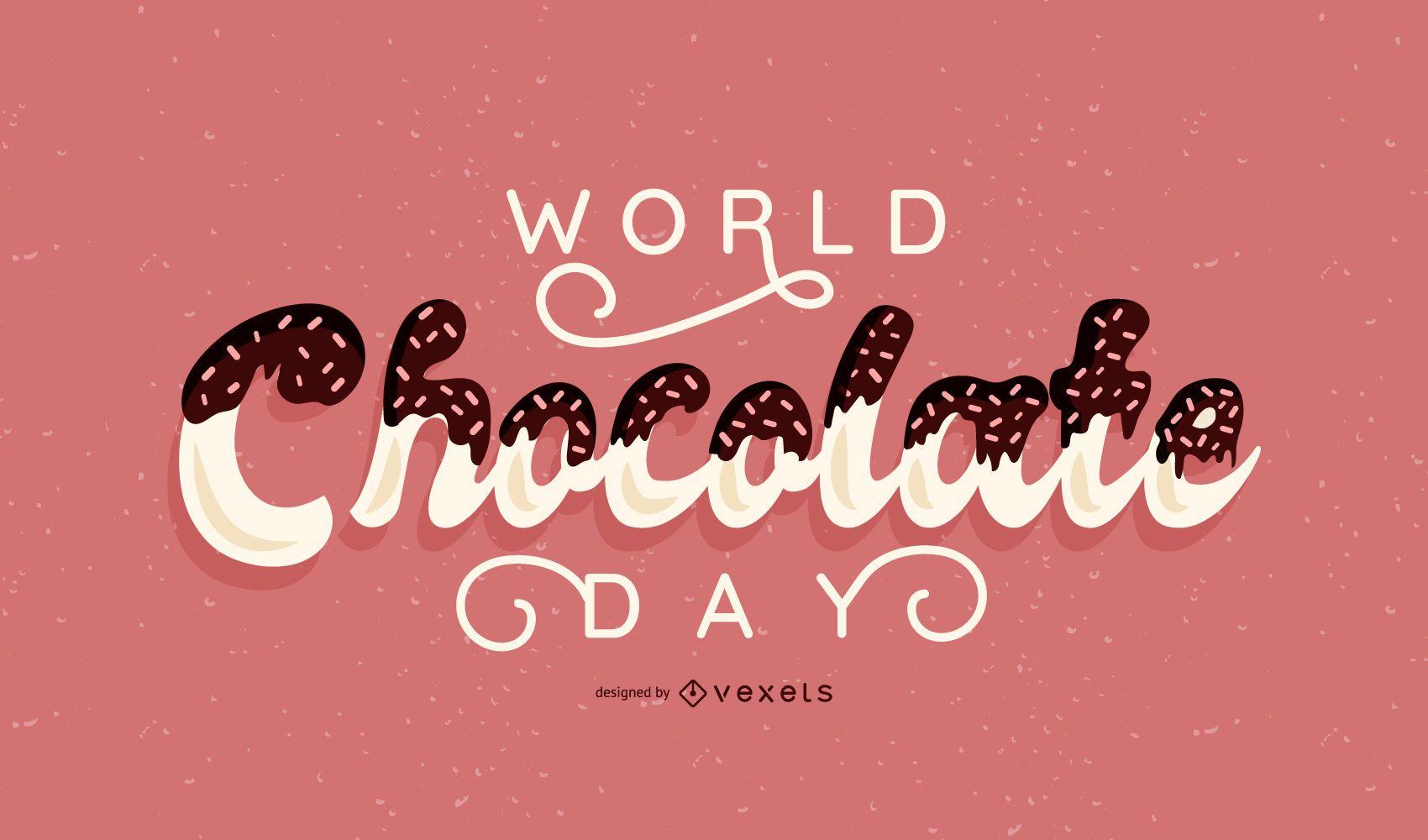 Banner del Día Mundial del Chocolate