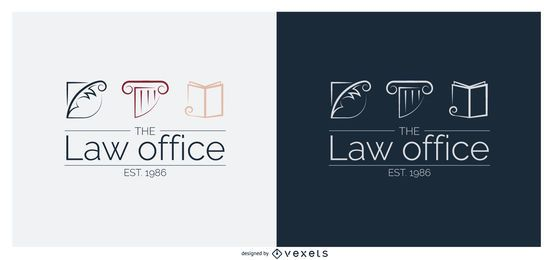 Legal Law Office Logo Template