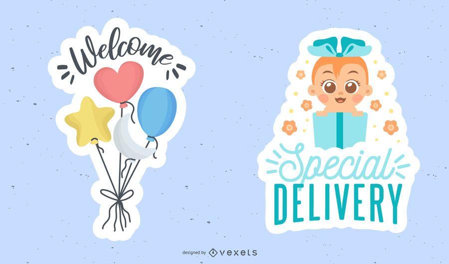 Nuevo set de adhesivos para bebés
