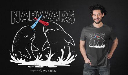 Diseño de camiseta Narwars