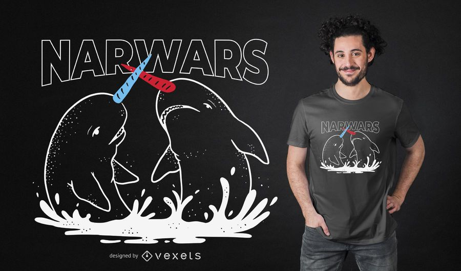 Projeto do t-shirt de Narwars