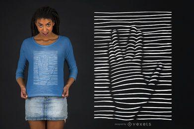 Vulcan Hand T-shirt Design