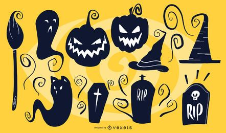 Halloween Artistic Silhouettes