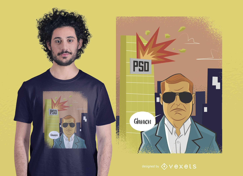 Romanian Politics T-shirt Design