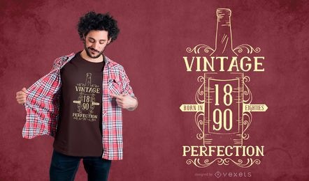 Wine Quote Vintage T-shirt Design