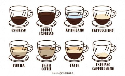 Coffee Type Stroke Design