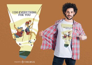 Diseño de camiseta Everything For You