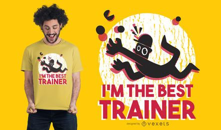 Bestes Trainer-T-Shirt Design