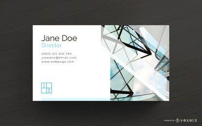 Plantilla de tarjeta de visita del arquitecto