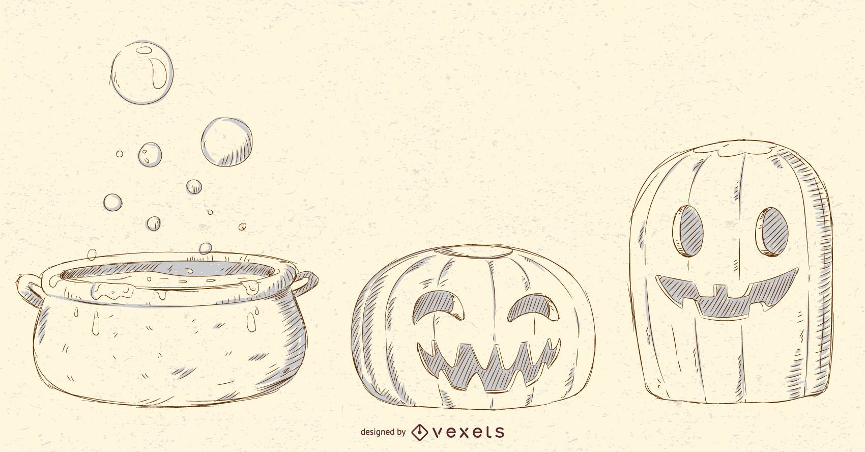 Halloween Objects Vector Pack