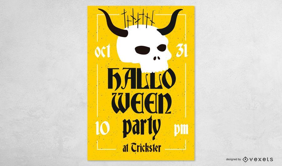 Halloween-Party-Banner-Design