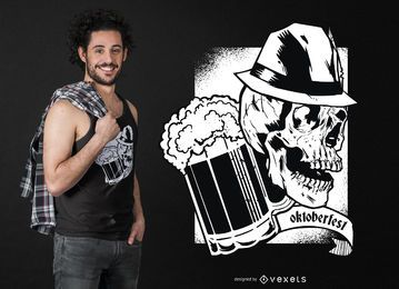 Dark oktoberfest t-shirt design