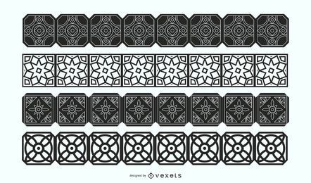 Decorative Borders Vector Set