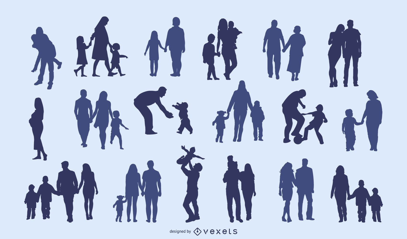 Family Silhouette Collection