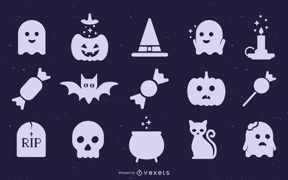 Cute Halloween Silhouette Collection