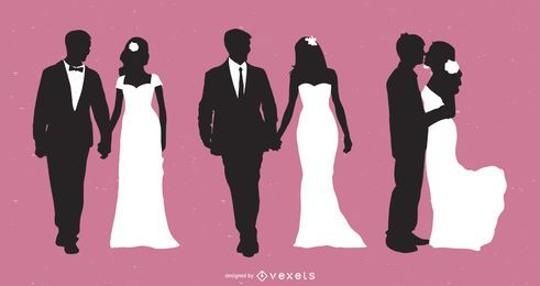 Married Couple Silhouette Collection