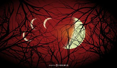 Halloween Monde Hintergrund