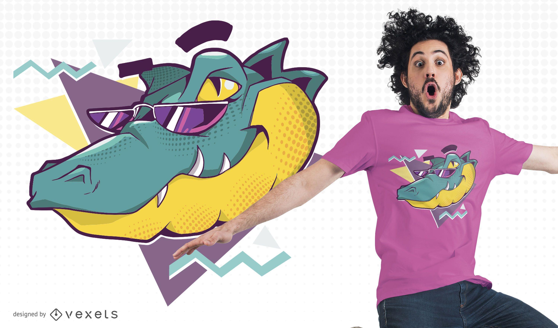 Cool Alligator T-shirt Design