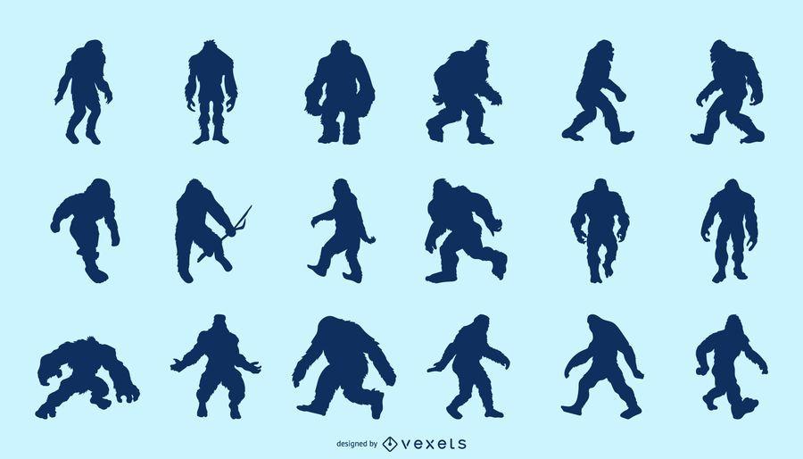 Bigfoot Silhouette Pack