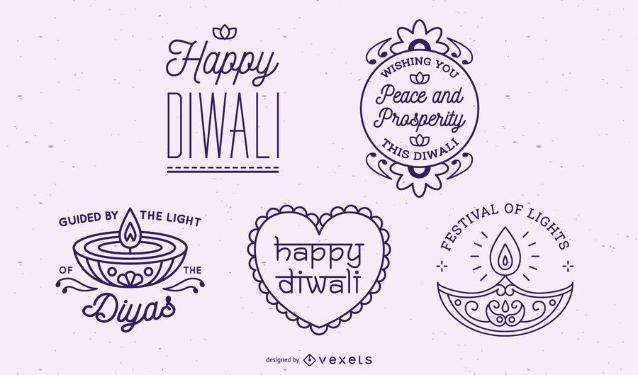 Colección de letras de Diwali