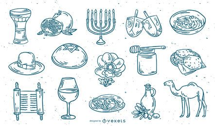 Conjunto de traços de elementos de Israel