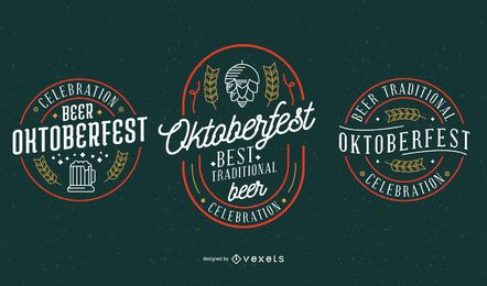 Oktoberfest Party Vector Collection