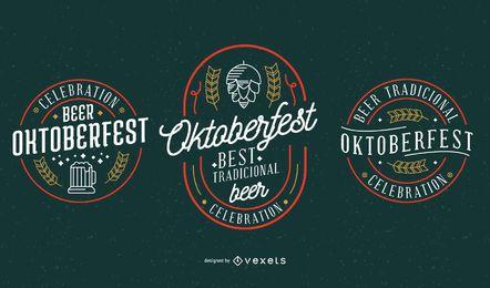 Colección de vectores de fiesta Oktoberfest