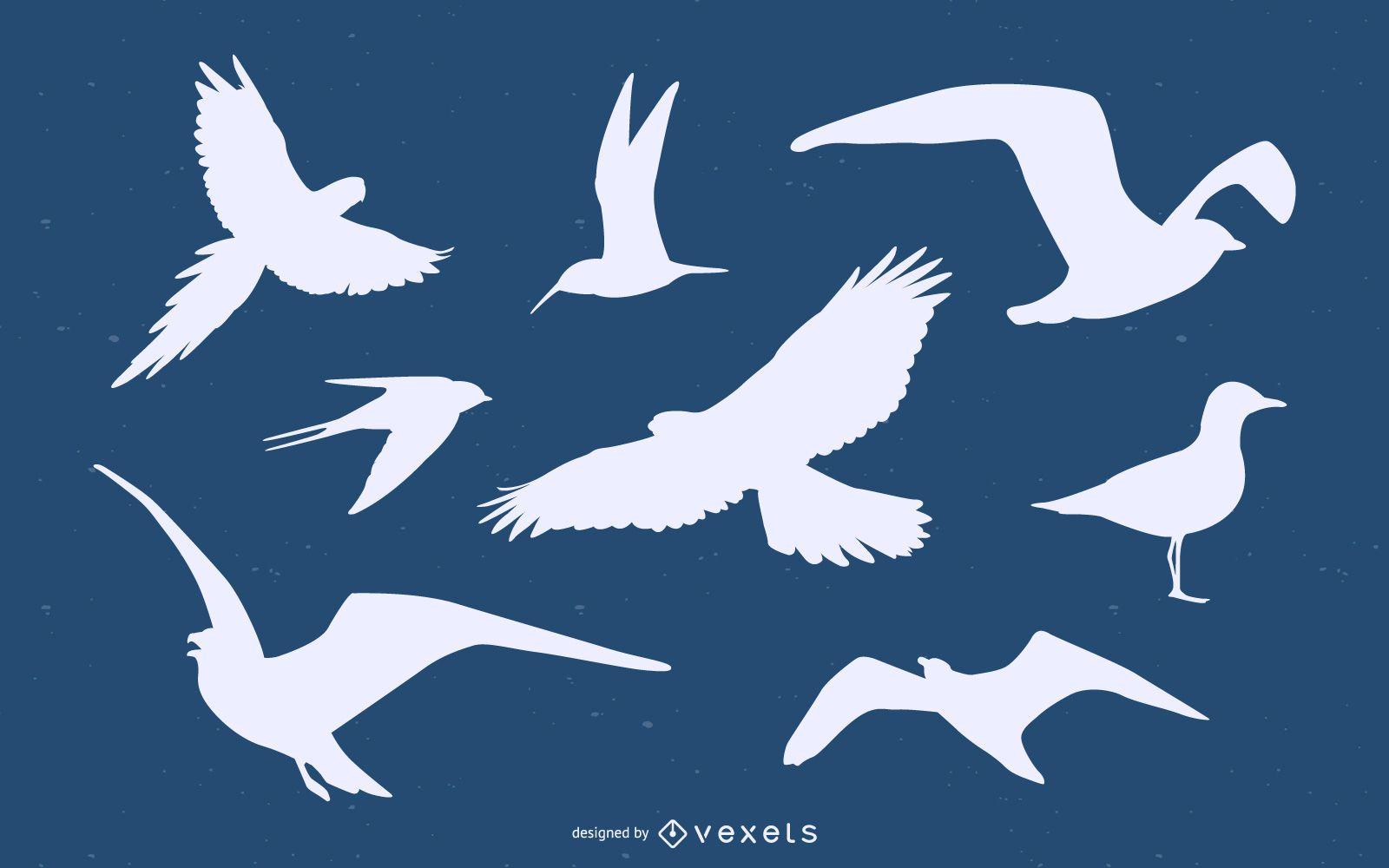 Bird Silhouette Pack