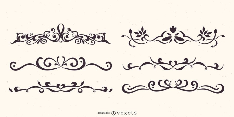 Conjunto de vetores de divisores florais