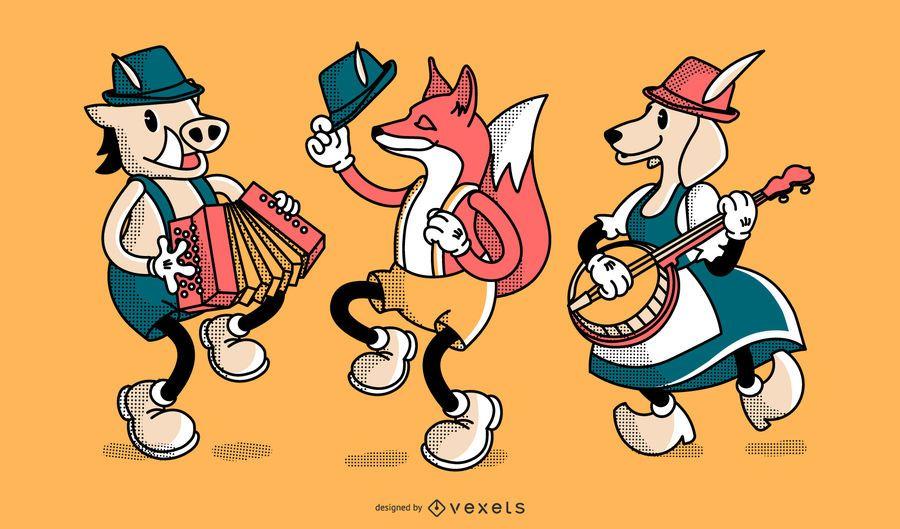 Oktoberfest character set