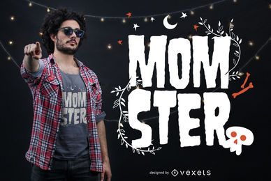 Momster design de t-shirt