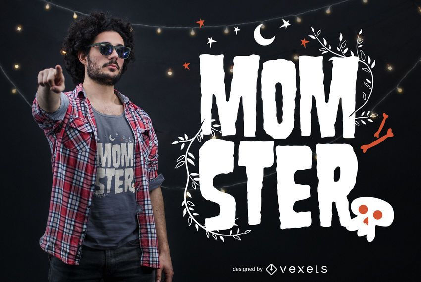 Momster t-shirt design