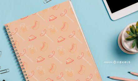 Diseño de patrones sin fisuras Oktoberfest