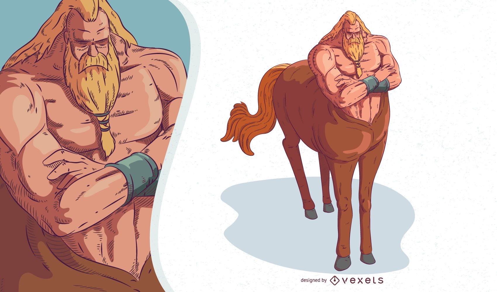 Mythical Creature Centaur Illustration