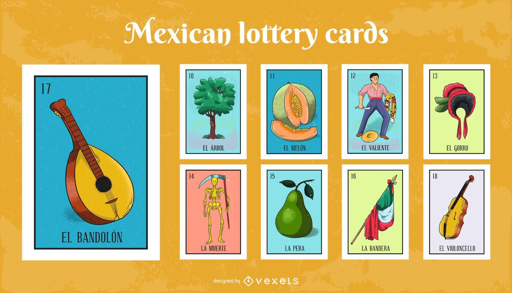 Mexican Lottery Cards Pack #2