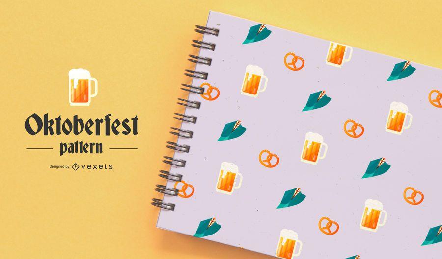 Oktoberfest Pattern Vector Design