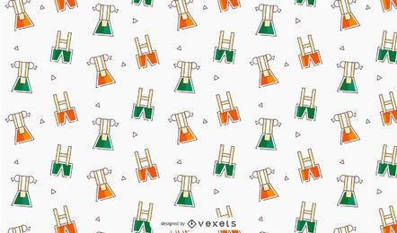 Diseño de patrón de vector de vestido de Oktoberfest
