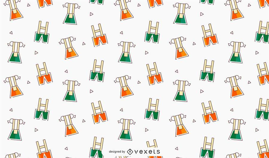 Oktoberfest Dress Vector Pattern Design