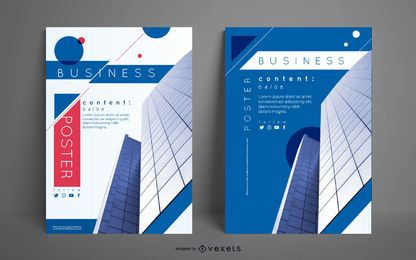 Business Building Poster Set