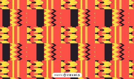 Seamless pattern kente design