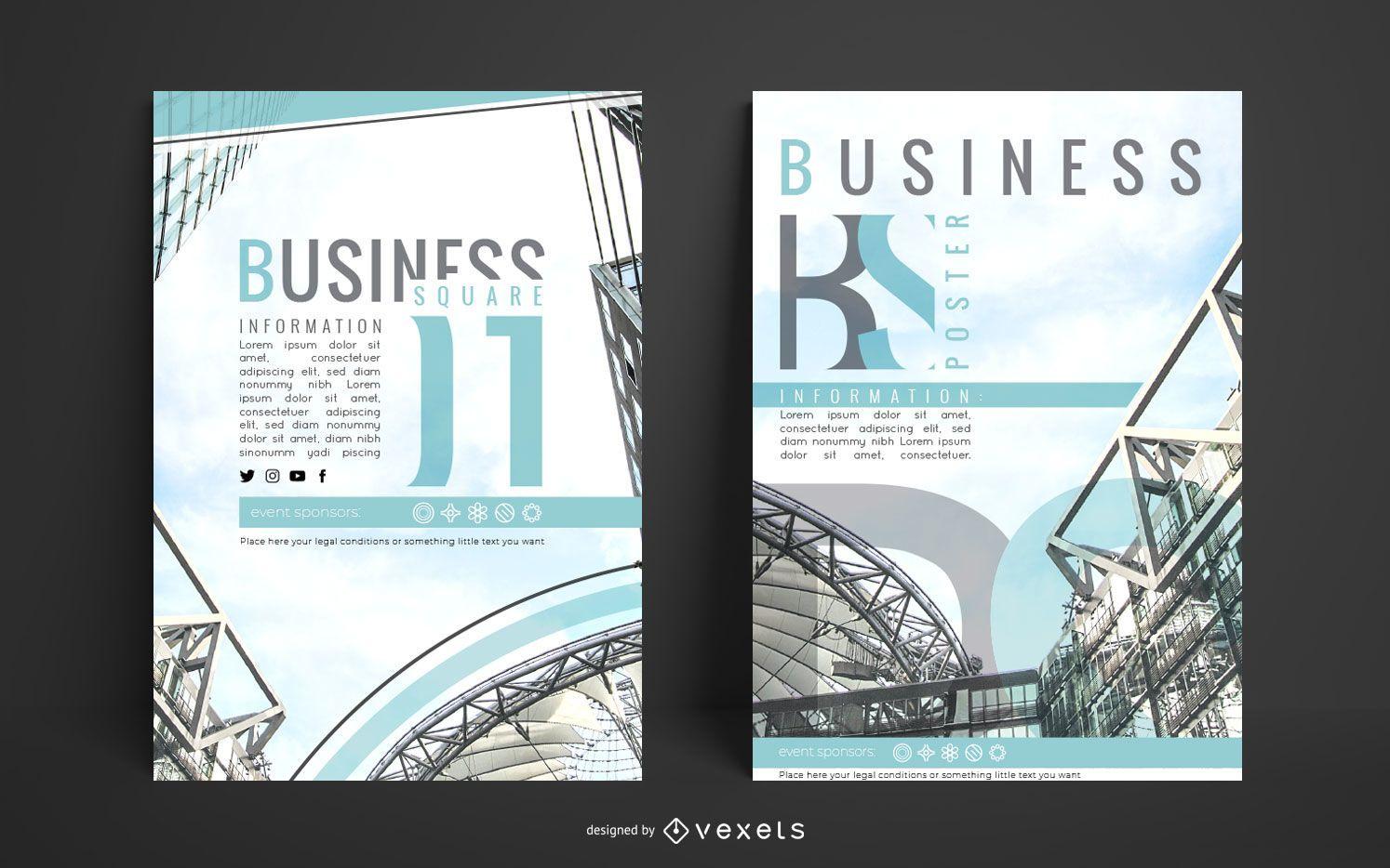 Architecture Business Poster Design