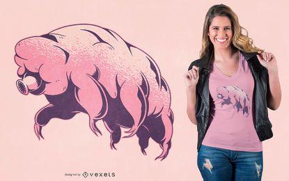 Tardigrade Design de Camiseta