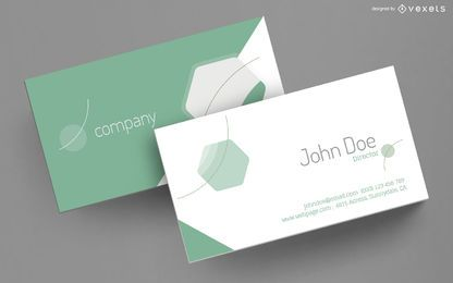 Business card elegant design