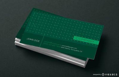 Visitenkarte Punkte Design