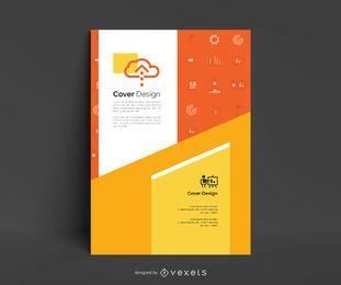Design editável de pôster de negócios