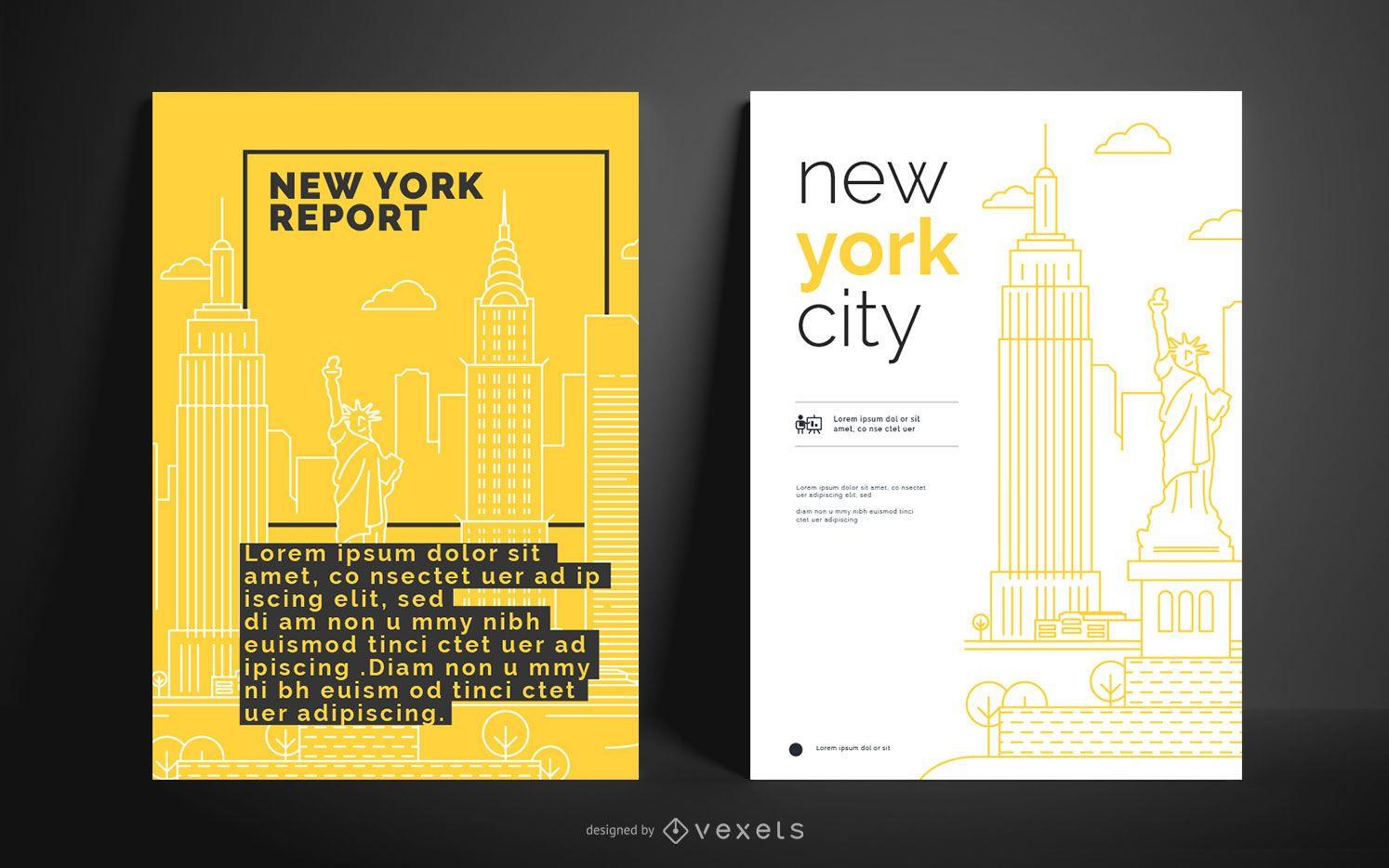 City Business Poster Design