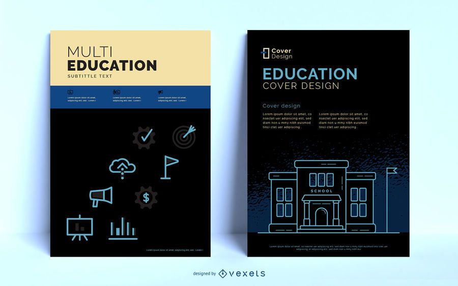 Education Editable Poster Template