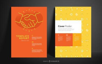 Modelo de Cartaz editável para negócios